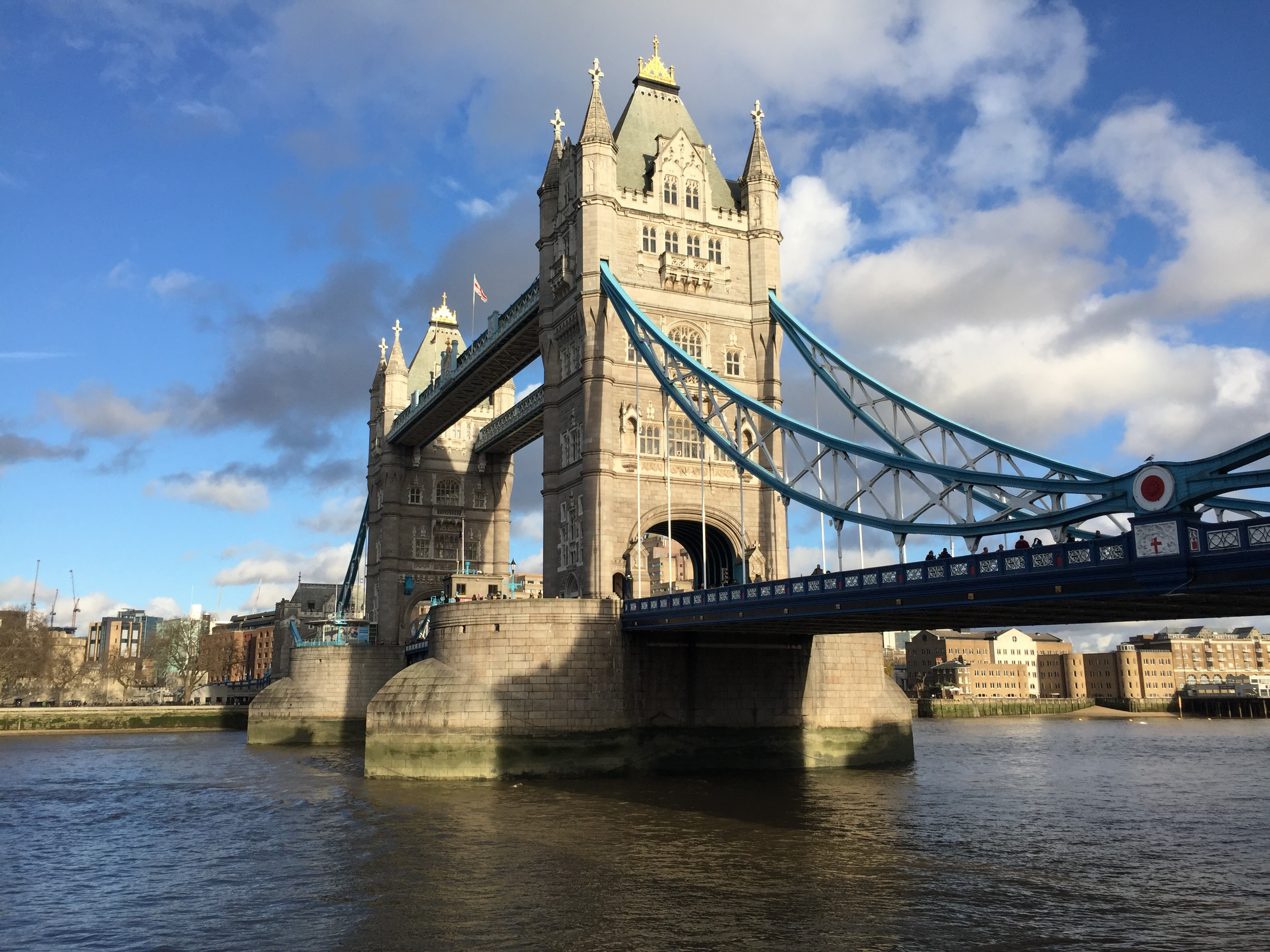 Тауэрский мост или Тауэр-бридж (Tower Bridge), Лондон, Великобритания