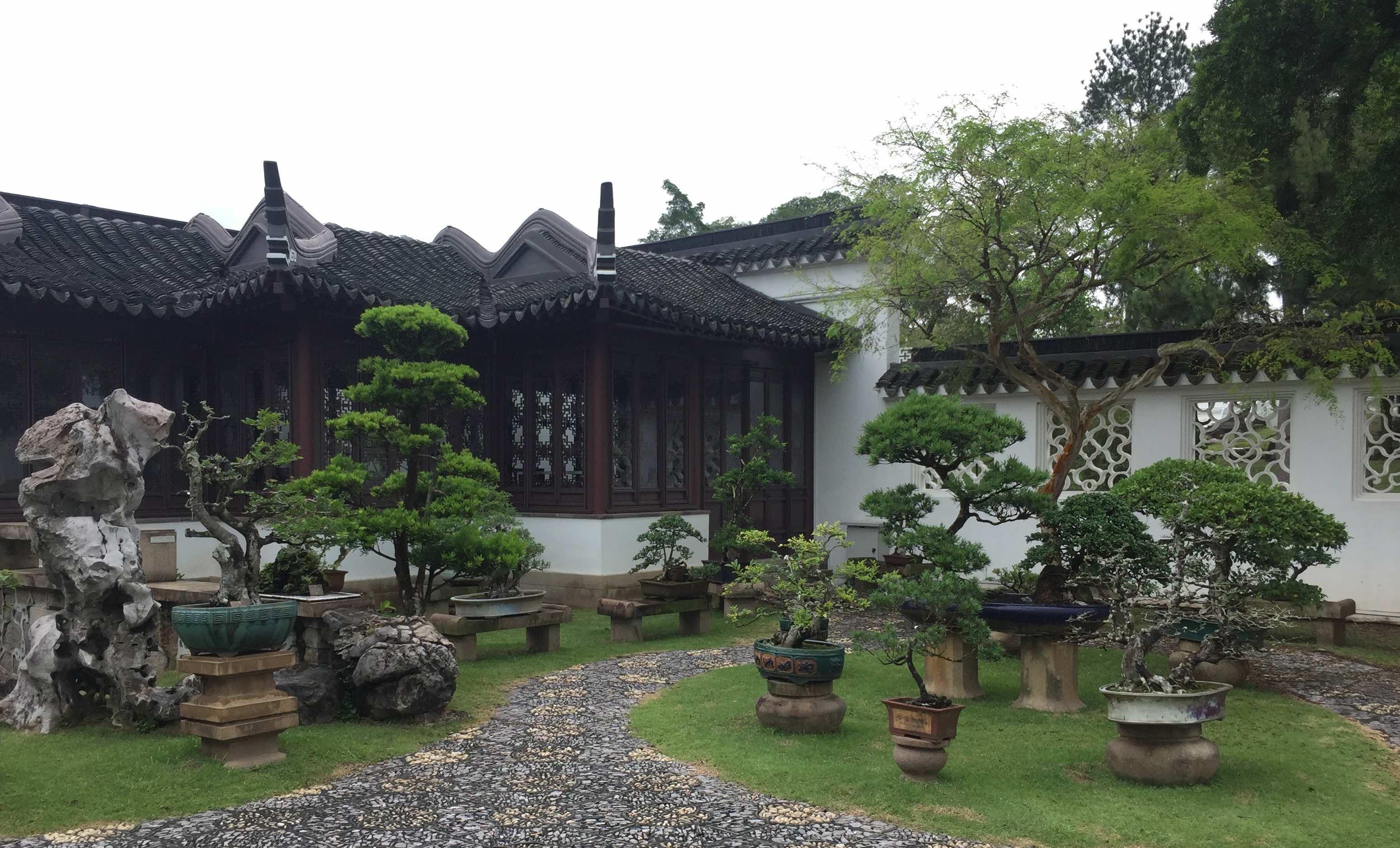 Бонсай сад в Сингапуре